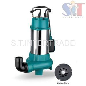 Stainless Steel Submersible Sewage Pump ปั๊มจุ่มดูดน้ำเสียสแตนเลส