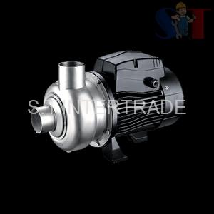 Semi-open Impeller Stainless Steel Centrifugal Pump (ABK) ปั๊มหอยโข่งสแตนเลสใบพัดกึ่งเปิด